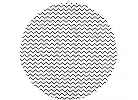 Alfombra de juego Apache zig zag negro - 2 tallas