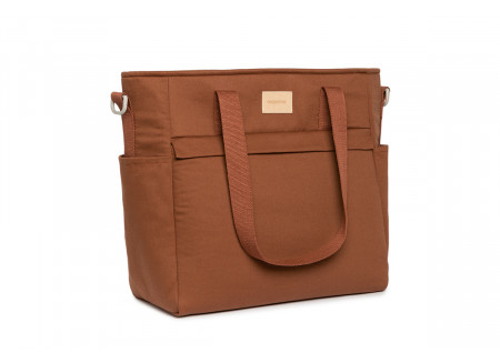 Bolso cambiador impermeable Baby on the go • clay brown