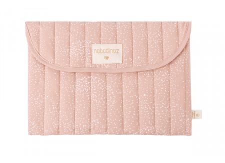 Estuche Bagatelle • white bubble misty pink