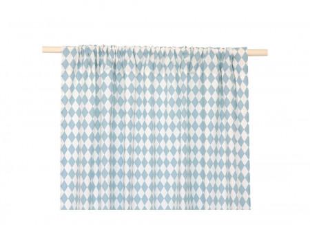 Cortina Biarritz 140x280 rombos azules