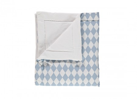Blanket Copenhaguen rombos azules – adulto