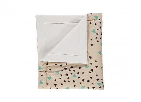 Blanket Copenhaguen chispas verde negro – Adult