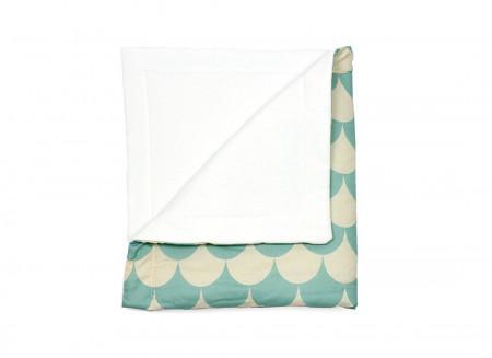Blanket Copenhague escamas verdes – L