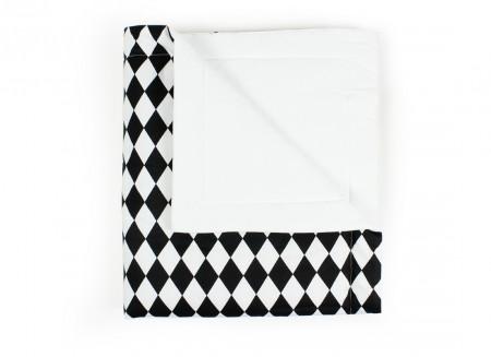 Manta Copenhague rombos negros - 2 tallas