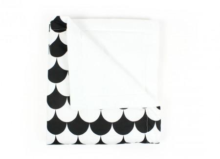 Manta Copenhague escamas negras - 2 tallas