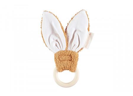 Anillo de dentición Bunny Caramel