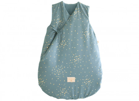 Saco de dormir de invierno Cloud gold confetti/ magic green - 2 tallas
