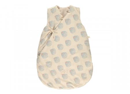 Saco de dormir de invierno Cloud blue gatsby cream - 2 tallas