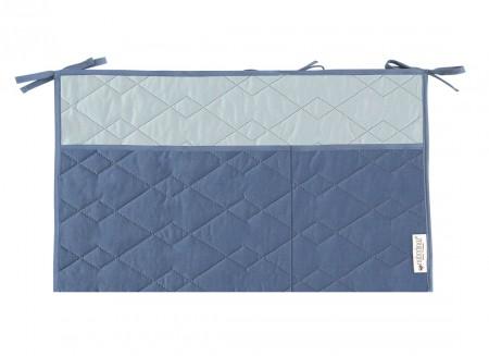Organizador de cuna Sevilla 26x48 aegean blue