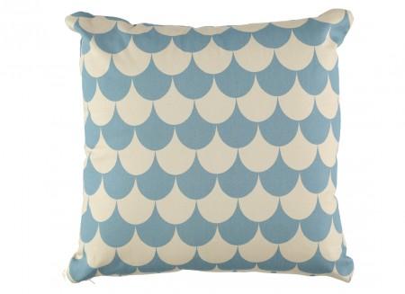 Cojin Athena 50x50 escamas azules