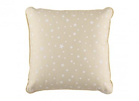 Cojin Venus 38x38 arena estrellas blancas