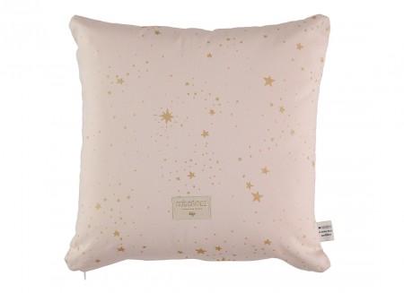 Cojin Descartes 38x38 gold stella/ dream pink