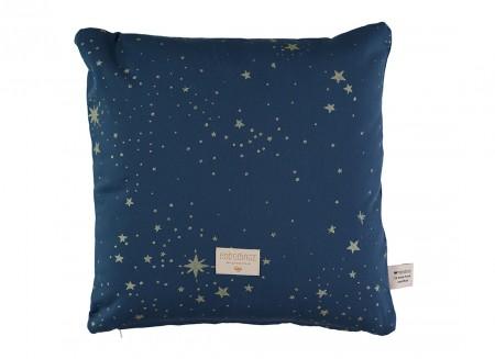 Cojin Descartes 38x38 gold stella/ night blue