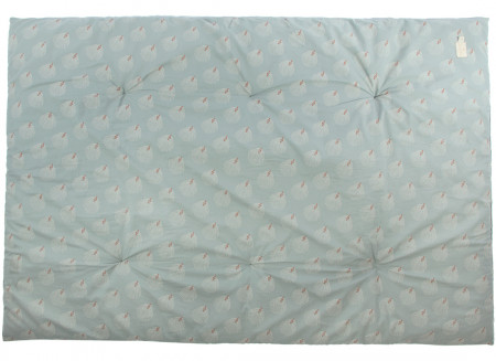 Futon Eden white gatsby antique green
