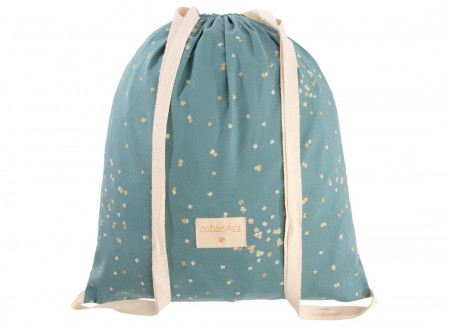 Mochila Koala gold confetti/ magic green