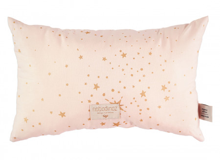 Cojin Laurel 22x35 gold stella/ dream pink