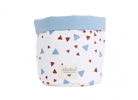 cesta mambo chispas azul terracotta - 3 tallas