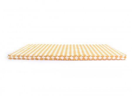 Colchoneta de suelo Saint Tropez 120x60x4 rombos miel