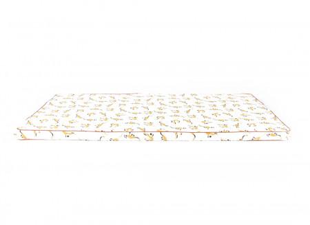 Colchoneta de suelo Saint Tropez 120x60x4 monos miel