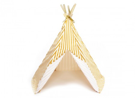 Mini tipi Arizona 66x67 rayas miel