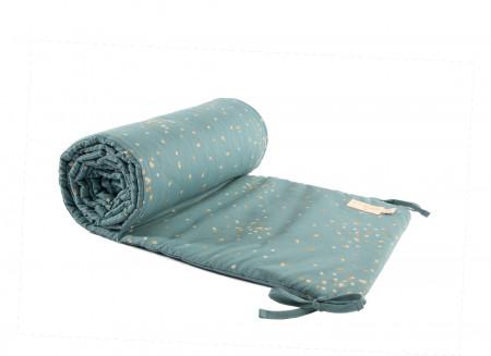 Protector de cuna Nest gold confetti/ magic green