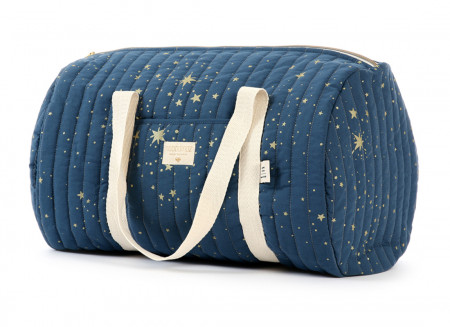 Bolsa weekend New York 30x45x30 gold stella/ night blue