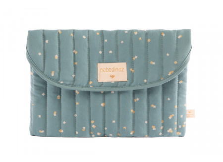 Estuche Bagatelle gold confetti/ magic green