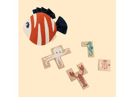 Puzzle de madera Sea Animals
