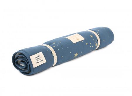 Cambiador de viaje Nomad 60x35 gold stella/ night blue