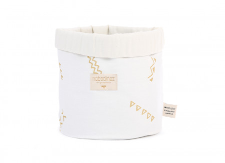 Cesta Panda gold secrets/ white - 3 tallas