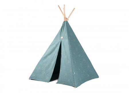 Tipi Phoenix gold confetti/ magic green