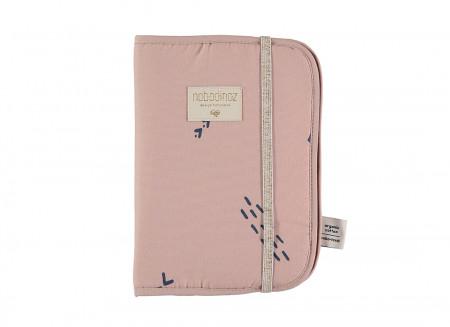 Funda libro de salud Poema A5 24x18 blue secrets/ misty pink