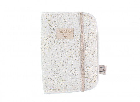 Funda carnet de salud Poema A5 24x18 gold bubble/ white