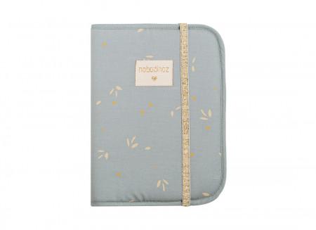 Funda libro de salud A5 Poema • willow soft blue