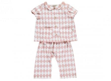 rombos rosa singapore pyjama
