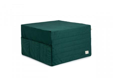 Puf cama plegable Sleepover • velvet jungle green