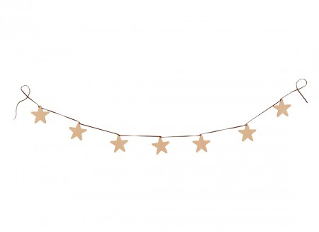 Guirnalda estrella 180cm