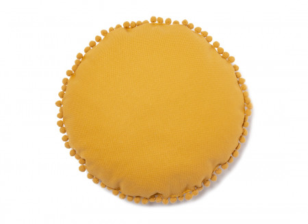 Cojín redondo Sunny 37x37 farniente yellow