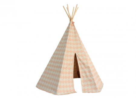Tipi Arizona 158x128 escamas rosas