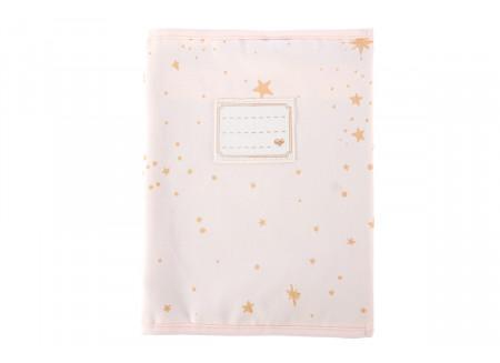Funda de cuaderno A5 Too Cool gold stella/ dream pink