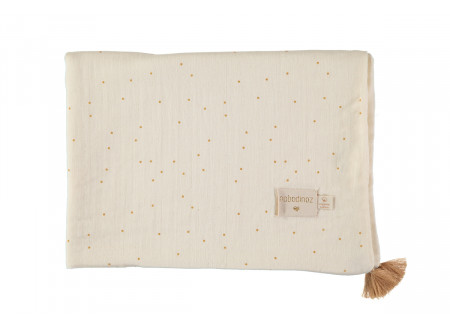 Manta de verano Treasure 70x100 honey sweet dots/ natural