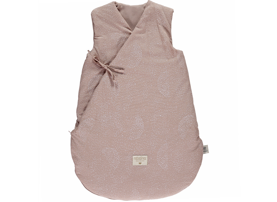 Saco de dormir de invierno Cloud white bubble/ misty pink - 2 tallas