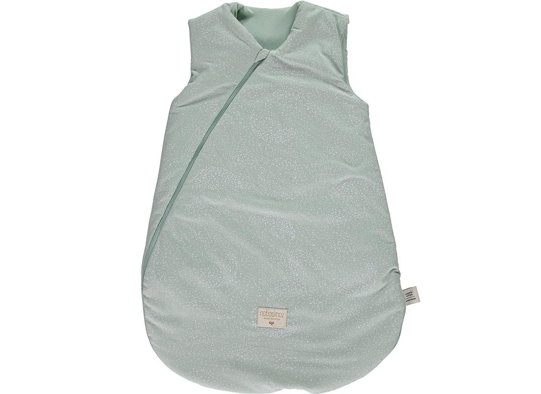 Saco de dormir Cocoon white bubble/ aqua - 2 tallas