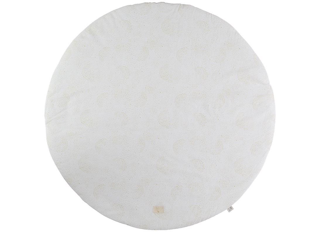 Alfombra de juego Full Moon gold bubble/ white - 2 tallas