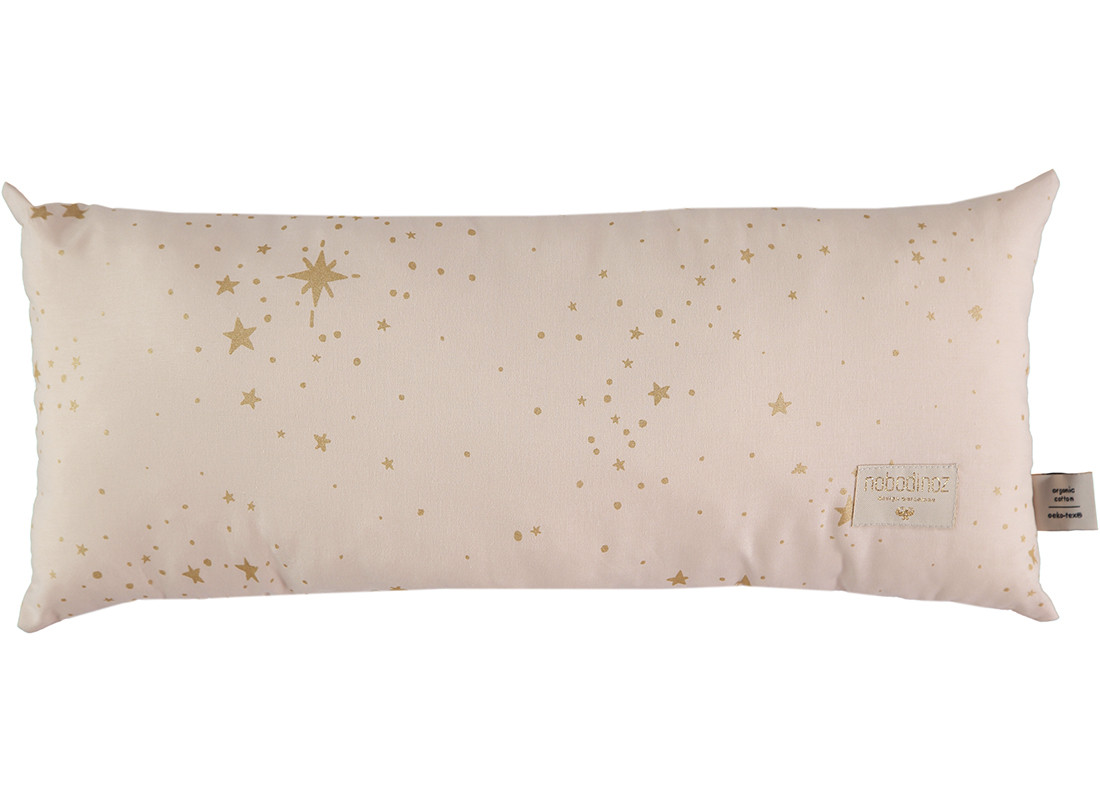 Cojin Hardy 22x52 gold stella/ dream pink