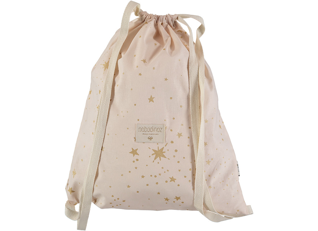Mochila Koala 40x34 gold stella/ dream pink