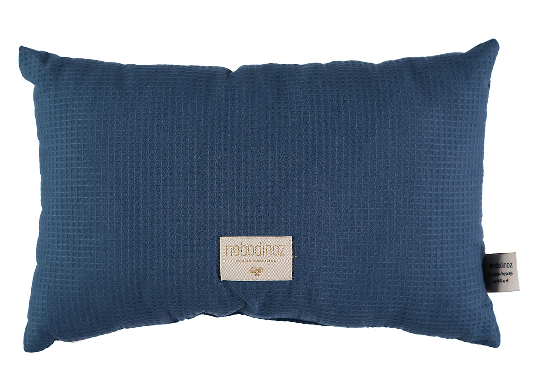 Cojin Laurel nido de abeja 22x35 night blue