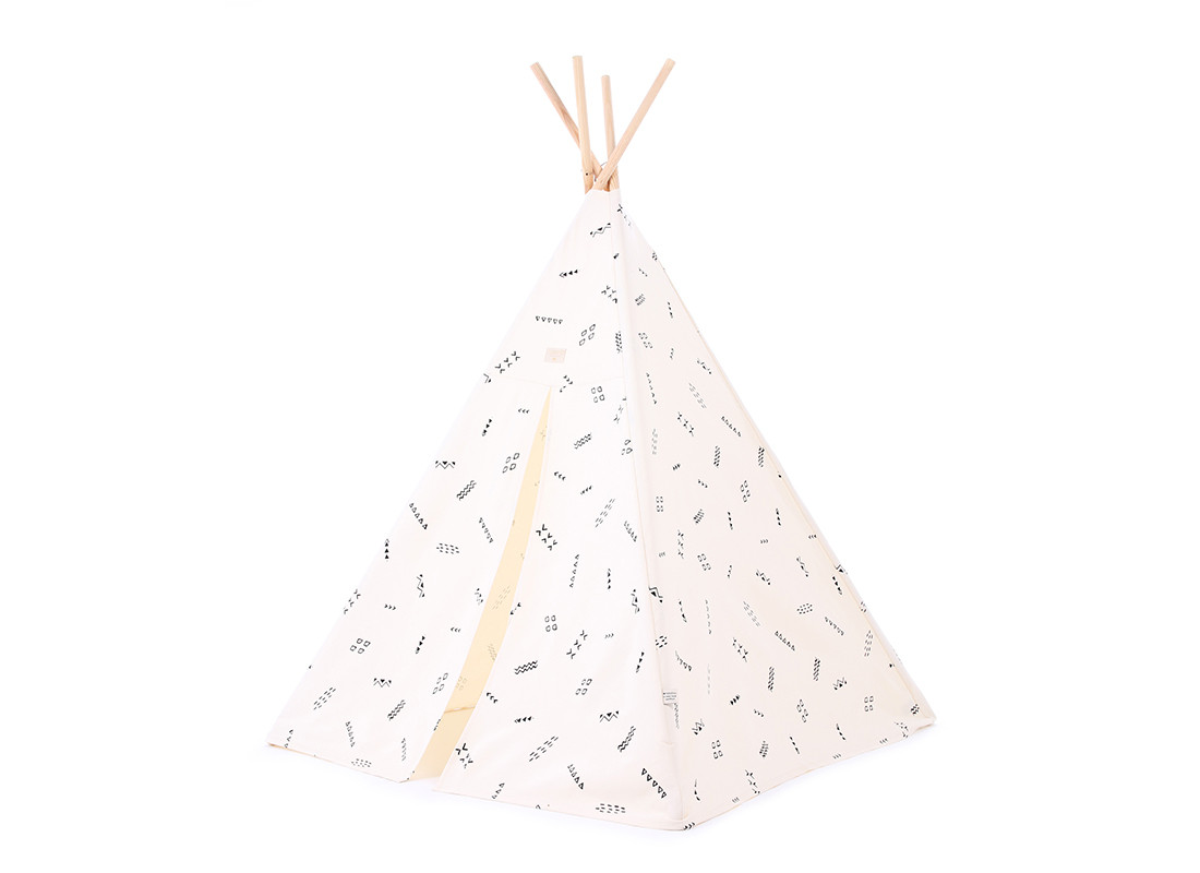 Tipi Phoenix 149x100 black secrets/ natural