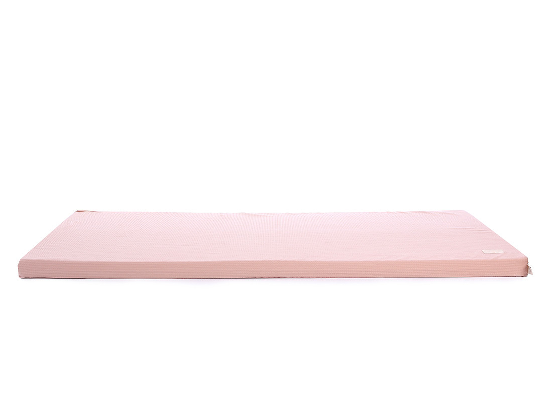Colchoneta de suelo Saint Barth nido de abeja 60X120X4 misty pink