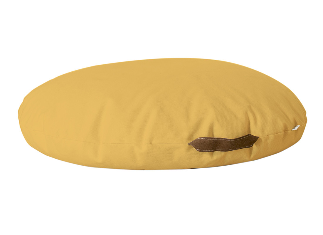 Puf Sahara 90x16x90 farniente yellow